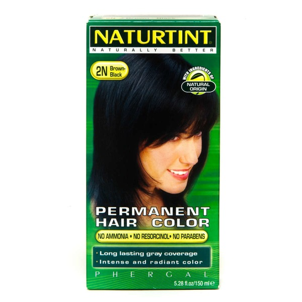 Naturtint Permanent Hair Color Brown-Black 2N