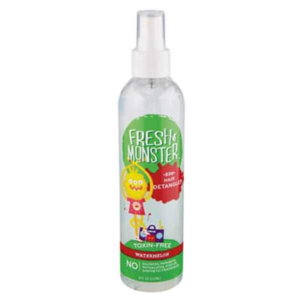 Fresh Monster Watermelon Kids Hair Detangler