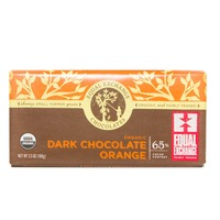 Equal Exchange Organic Fair Trade Orange Infused Dark Chocolate 65% Cacao