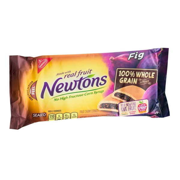 Nabisco Fig Newtons 100% Whole Grain Wheat