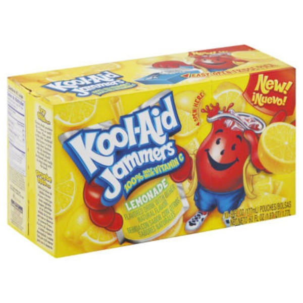 Kool-Aid Jammers Lemonade Juice Drink