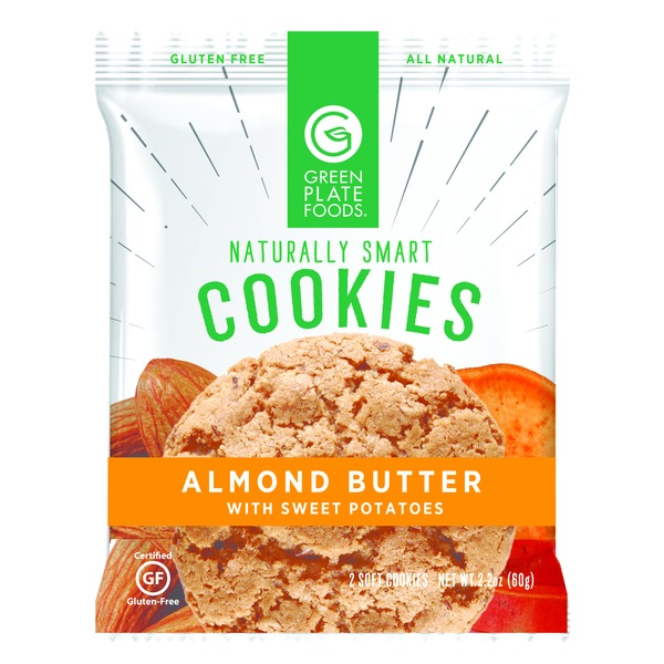 Green Plate Foods Cookie Almond Butter Sweet Potato