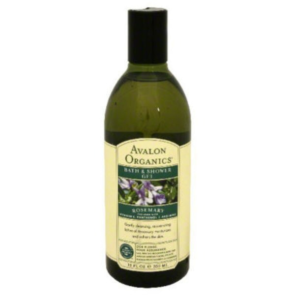 Avalon Organics Rejuvenating Rosemary Bath & Shower Gel