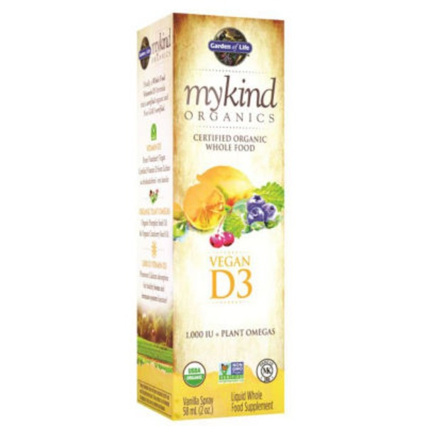 Garden of Life Vegan D3 Spray