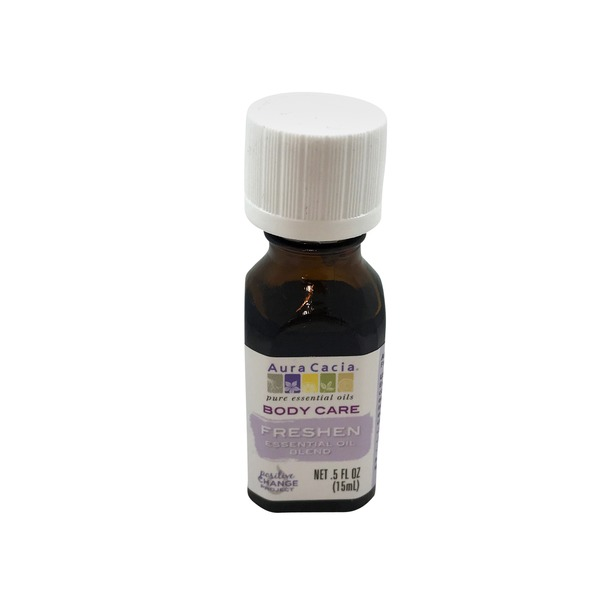Aura Cacia Freshen Body Care Essential Oil Blend