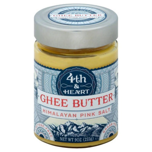 4th & Heart Himalyan Pink Salt Ghee