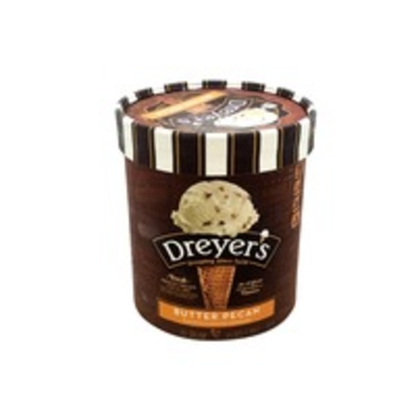 Dreyer's Butter Pecan Blast Grand Ice Cream