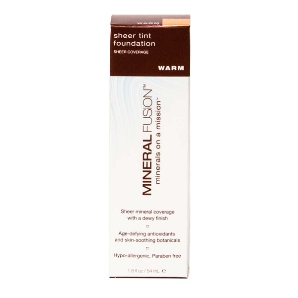 Mineral Fusion Sheer Tint Foundation - Warm
