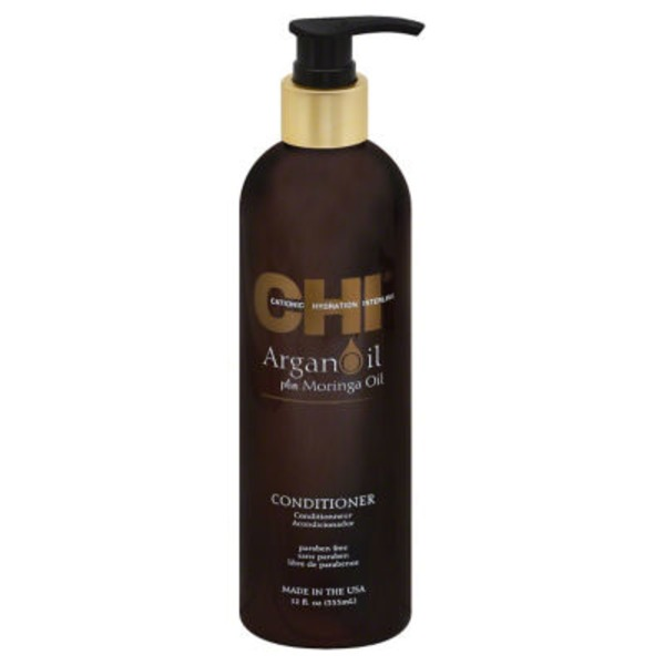 Chi Conditioner, Argan Oil + Moringa Oil, Bottle