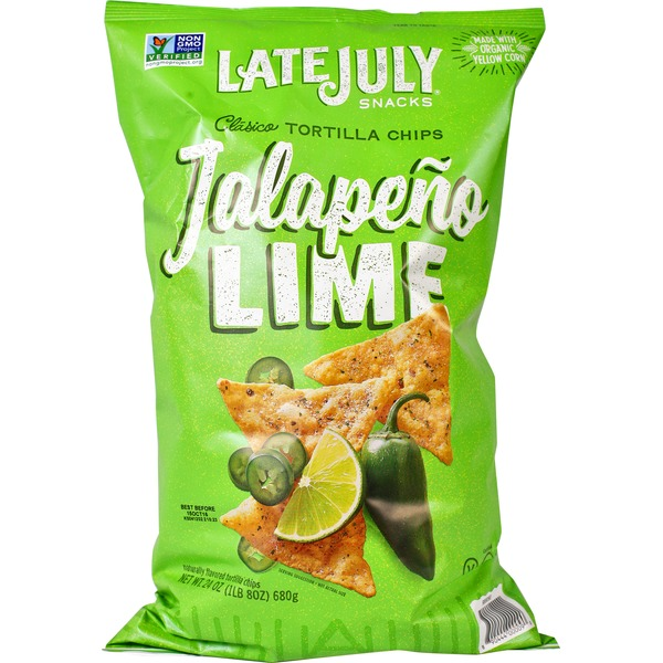 Late July Organic Jalapeno Lime Multigrain Chips