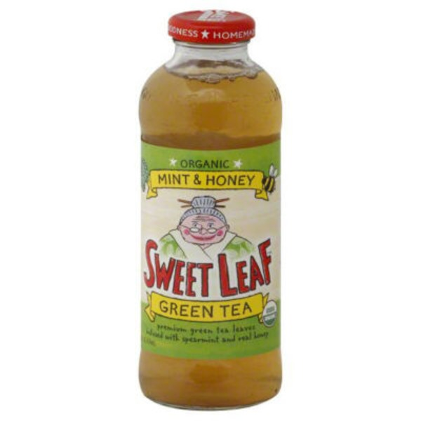 Sweet Leaf Tea Co Mint & Honey Green Tea