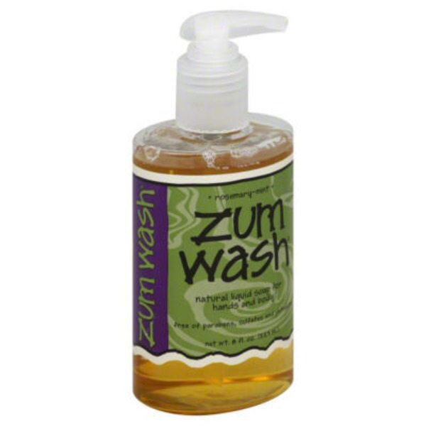 Zum Wash Rosemary-Mint Natural Liquid Soap