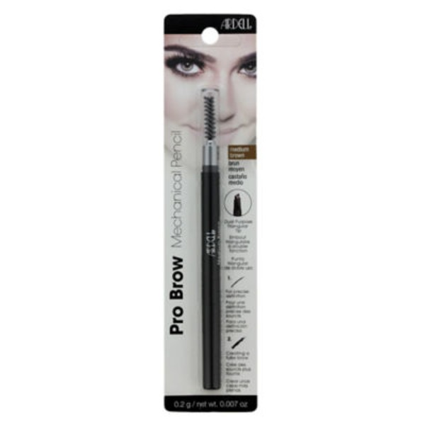 Ardell Mechanical Pencil, Pro Brow, Medium Brown