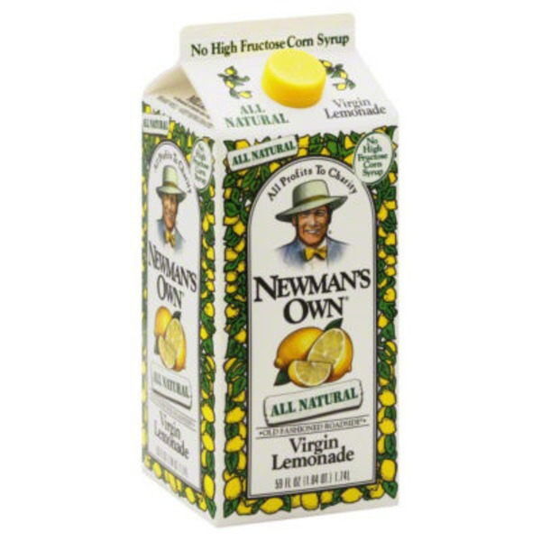 Newman's Own All Natural Virgin Lemonade