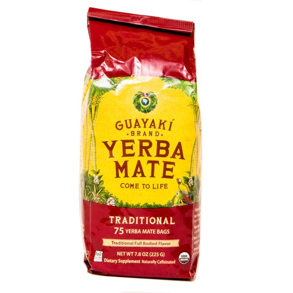 Guayaki Traditional Yerba Mate Tea Bags