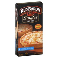 Red Baron Singles Deep Dish 4 Cheese Pizza
