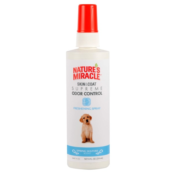 Nature's Miracle Supreme Odor Control Dog Freshening Spray Spring Waters Scent