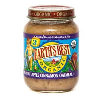 Earth's Best Organic Jr Apple Cinnamon Oatmeal Stage 3