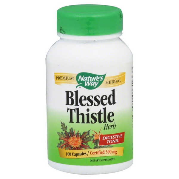 Nature's Way Blessed Thistle Herb 390 mg