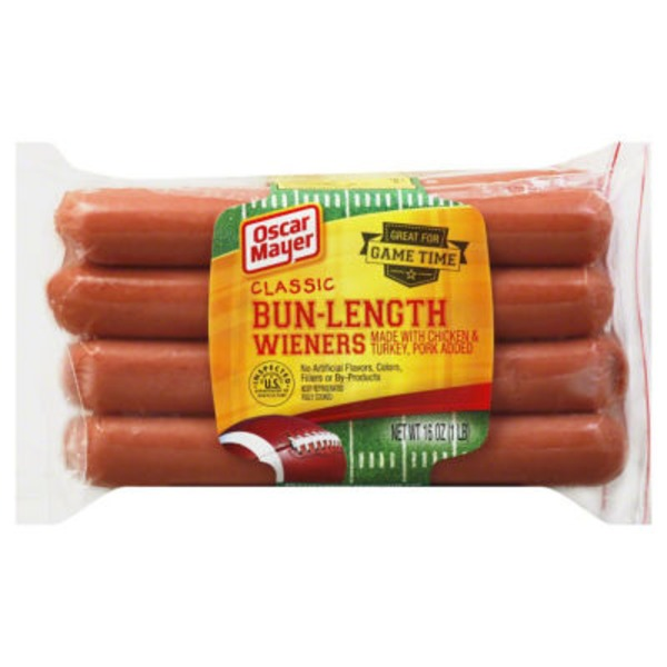 Oscar Mayer Bun Length Wieners, 8 ct