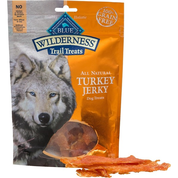 Blue Buffalo Turkey Jerky Trail Dog Treats