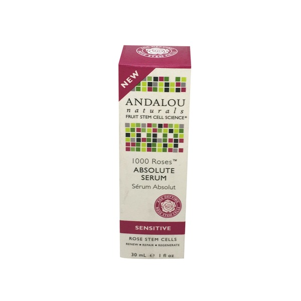 Andalou Naturals 1000 Roses Absolute Serum for Sensitive Skin