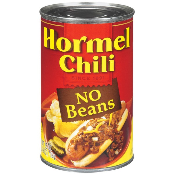 Hormel No Beans Chili