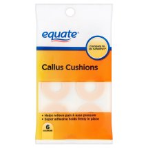Equate Callus Cushions , 6 Ct