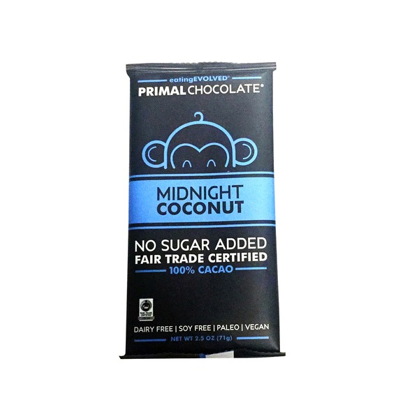 Eating Evolved Midnight Coconut Chocolate Bar