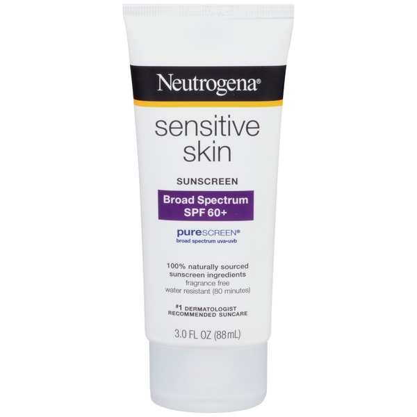 Neutrogena® Sensitive Skin Sunscreen, Broad Spectrum SPF 60+