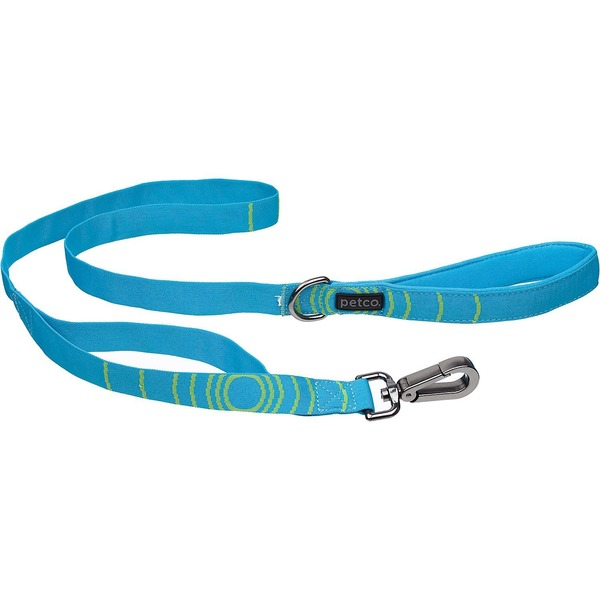 Petco Sport Dog Leash In Blue & Green