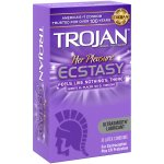 Trojan Her Pleasure Ecstacy Lubricated Latex Condoms - 10 ct