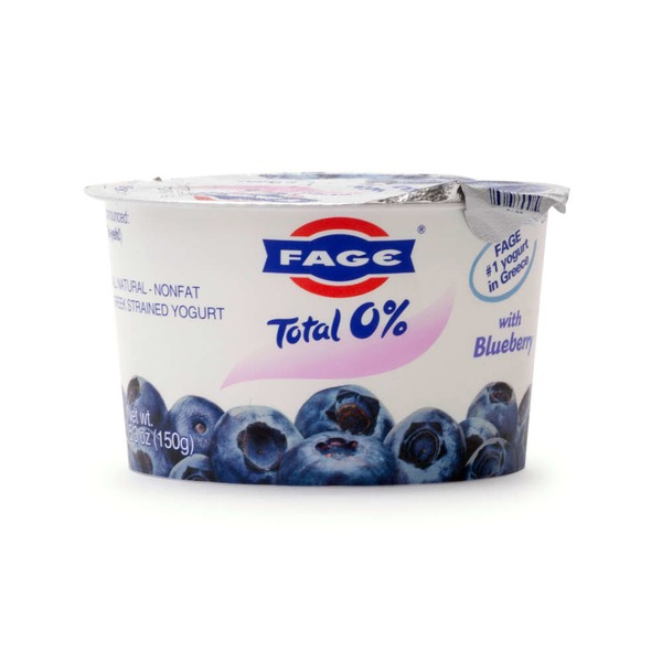 Fage Fat Free Blueberry Yogurt