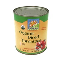 Bionature Organic Diced Tomatoes No Salt Added
