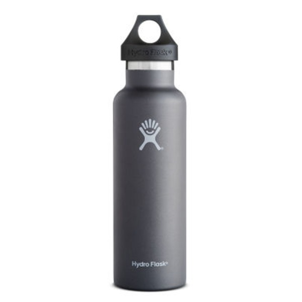 Hydro Flask 21 Oz. Graphite Standard Mouth Water Bottle