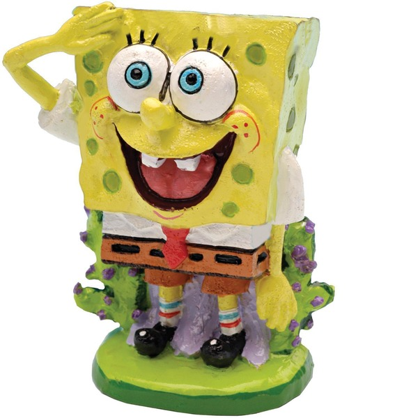 Penn-Plax Sponge Bob Squarepants Aquatic Ornament