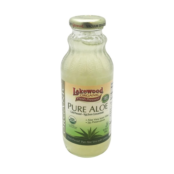 Lakewood Organic Pure Aloe Cold Pressed With Lemon