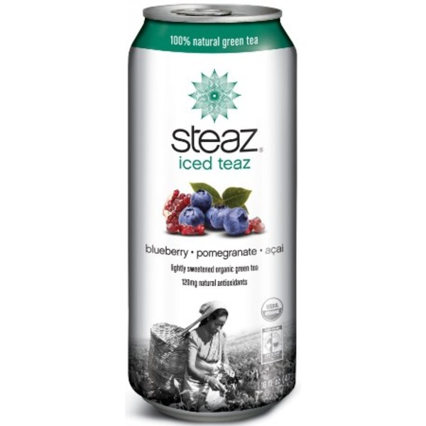 Steaz Blueberry Pomegranate Iced Tea