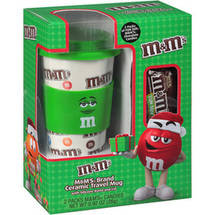 Frankford M & M's Candy With Travel Mug