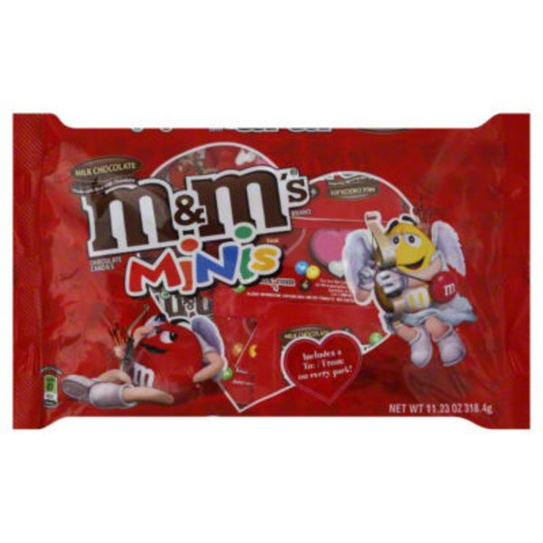 M&M Milk Chocolate Minis Chocolate Candies