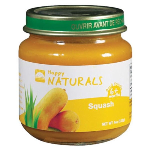 Happy Naturals 2nd Foods Squash
