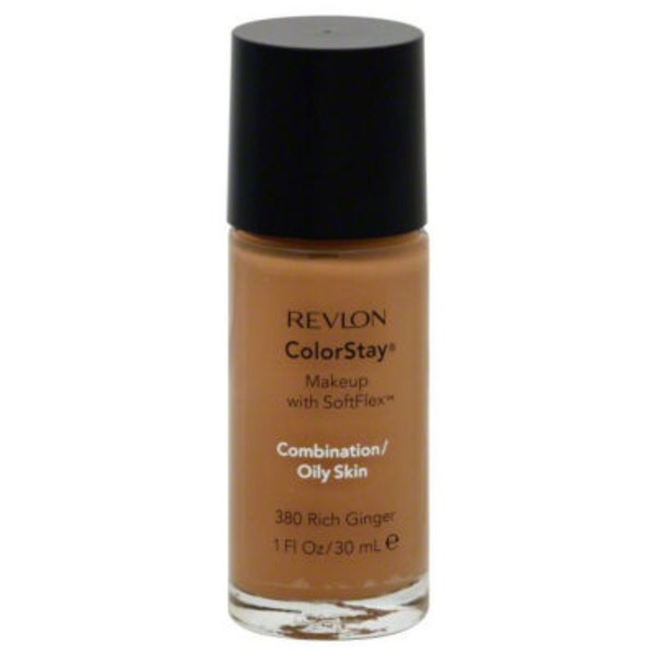 Revlon Makeup with SoftFlex, 380 Rich Ginger