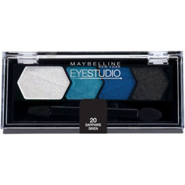 Eye Studio® Color Plush® Sapphire Siren Silk Eyeshadow Quad