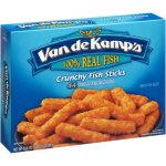 Van De Kamps Crunchy Breaded 44 Ct Fish Sticks, 26.4 Oz