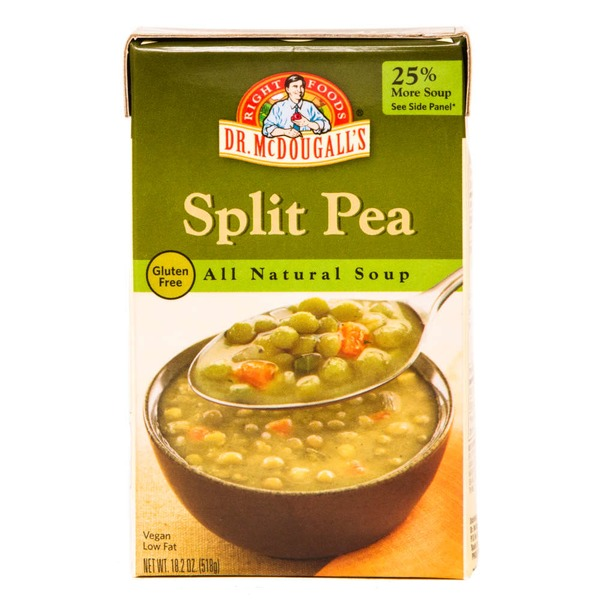 Dr. McDougall's Right Foods All Natural Soup Split Pea