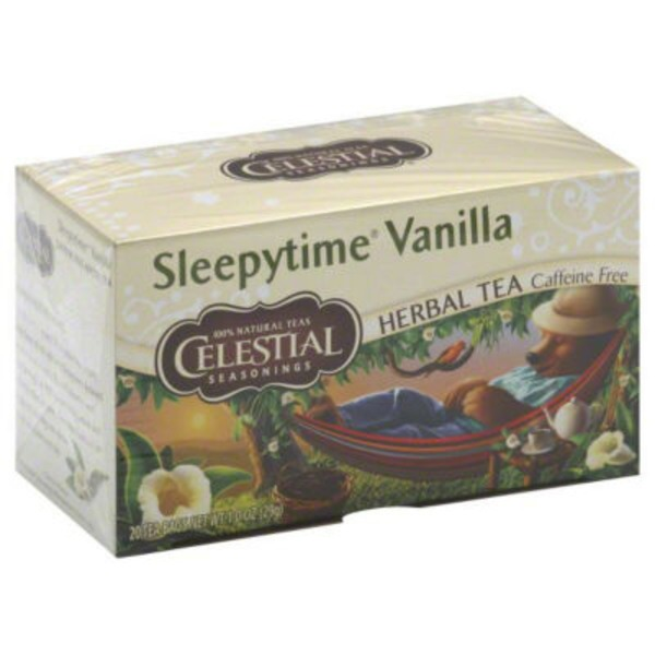 Celestial Seasonings Sleepytime Vanilla Caffeine Free Herbal Tea