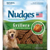Nudges Chicken Grillers Wholesome Dog Treats 18 oz. Bag