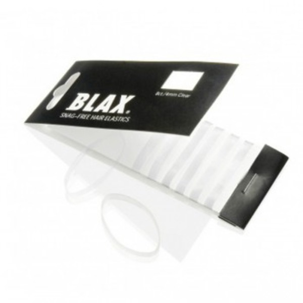 Blax Snag Free Hair Elastics 4mm Clear