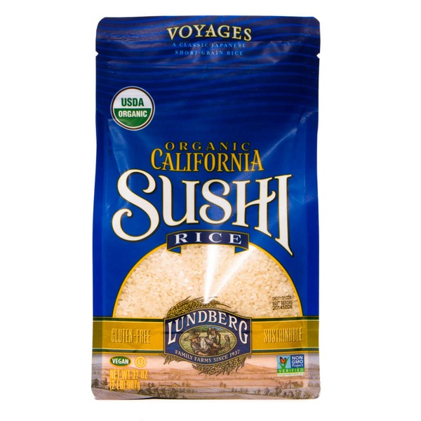 Lundberg Family Farms OG California Sushi Organic Rice