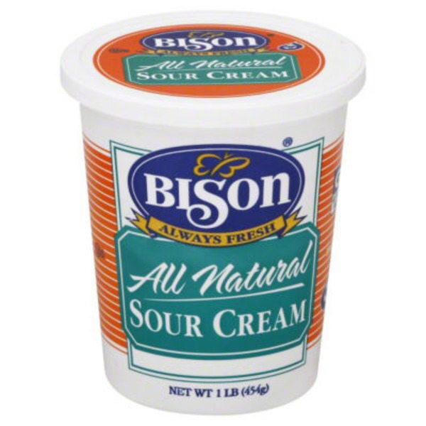 Bison Sour Cream
